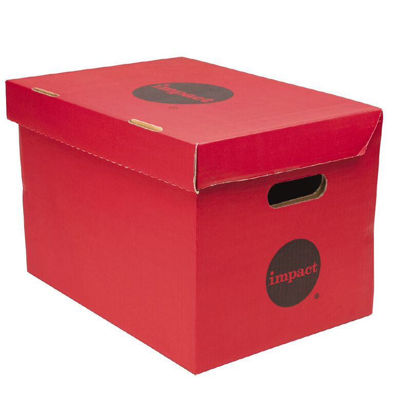 Impact Archive Box Red, , hi-res
