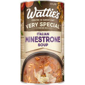 Wattie's Very Special Soup Italian Minestrone 535g