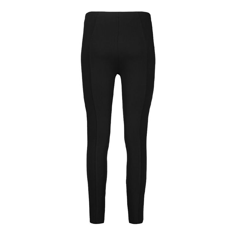 H&H Women's Ponti Pull On Pants, Black, hi-res image number null