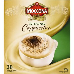 Moccona Cafe Classics Strong Cappuccino 20s