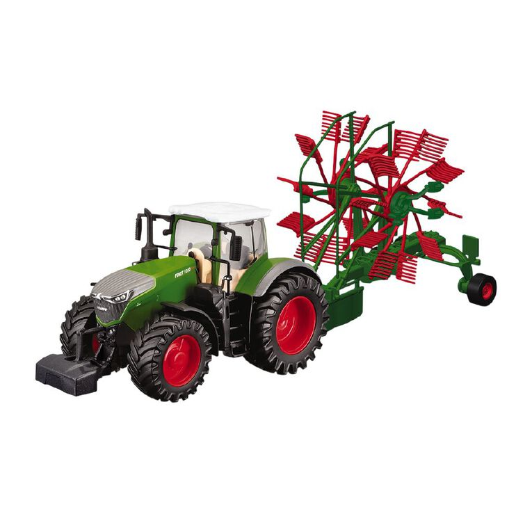 Bburago New Holland 10cm Farm Friction Tractor with Accessories, , hi-res