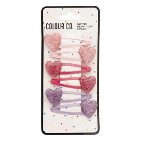 Colour Co. Heart Clips 6 Pack