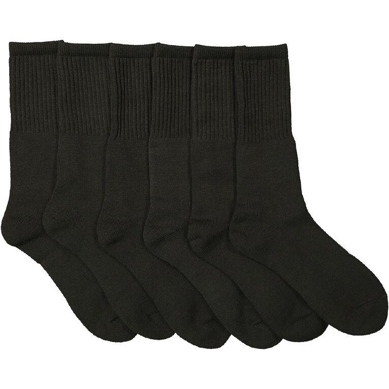 Rivet Men's Work Socks 3 Pack, Charcoal, hi-res
