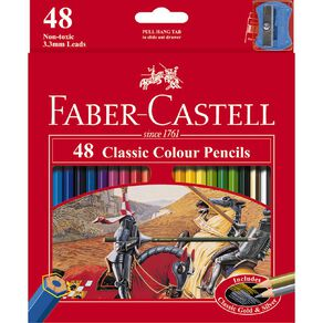 Faber-Castell Classic Colour Pencils 48 Pack