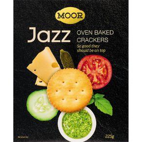 Moor Jazz Crackers 225g