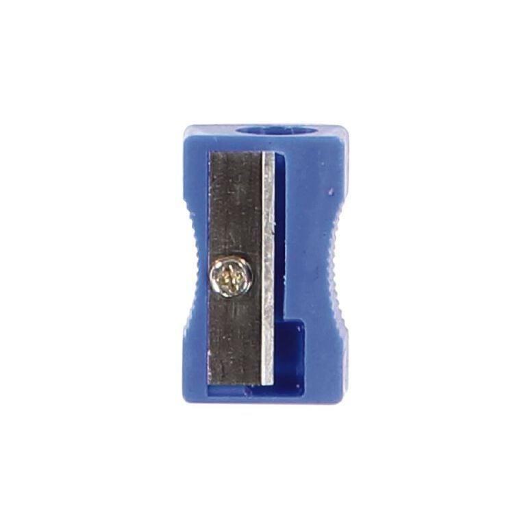 WS Pencil Sharpener 1 Hole Plastic Multi-Coloured, , hi-res