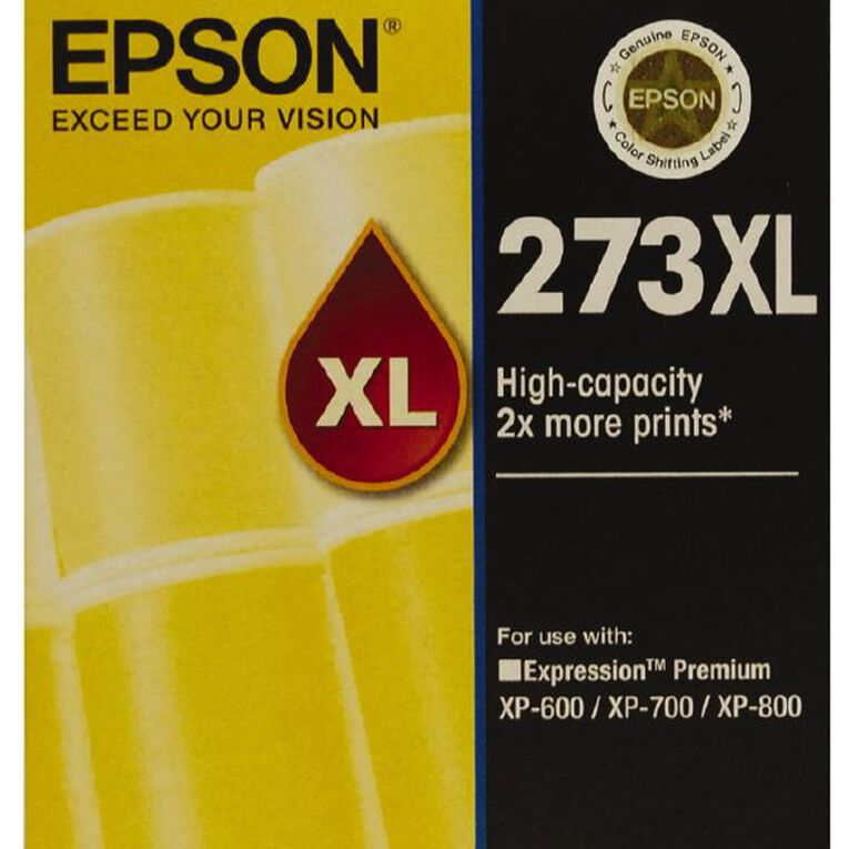 Epson Ink 273XL Yellow (650 Pages), , hi-res