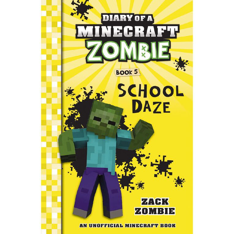 Minecraft Zombie #5 School Daze by Zack Zombie, , hi-res