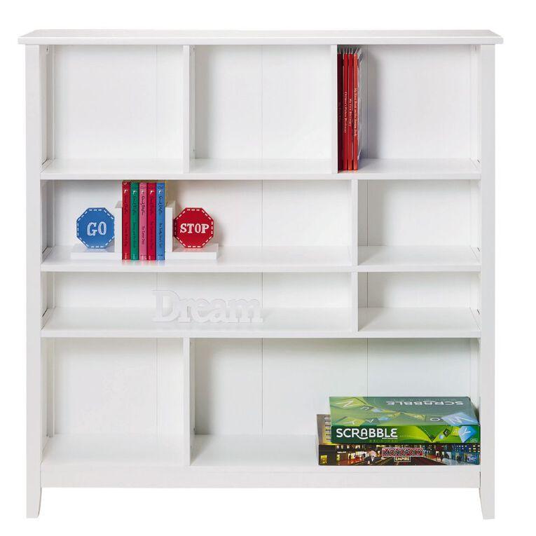 Living & Co Glacier Multi Function Bookcase White, , hi-res