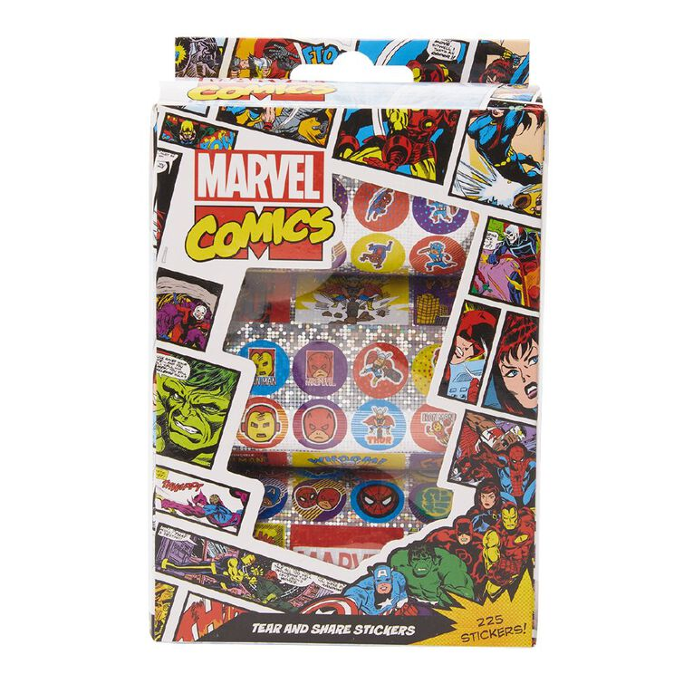 Avengers Holographic Stickers 225 Stickers, , hi-res