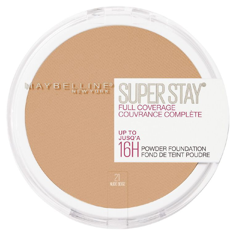 Maybelline Superstay 16hr Powder 021 Nude Beige, , hi-res