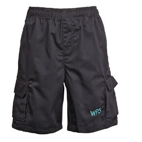 Schooltex Waipu Drill Cargo Shorts with Embroidery