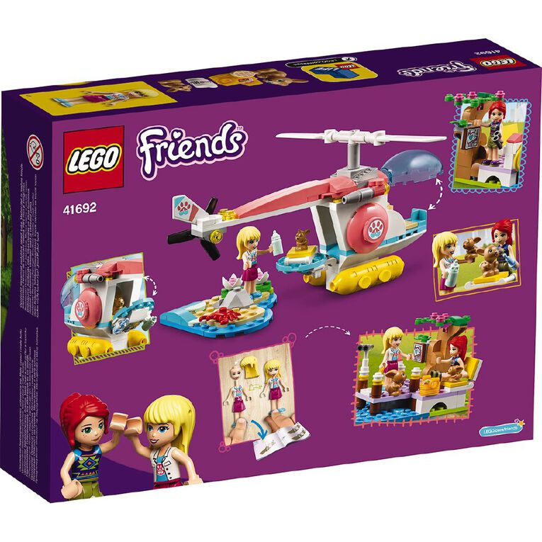 LEGO Friends Vet Clinic Rescue Helicopter 41692, , hi-res