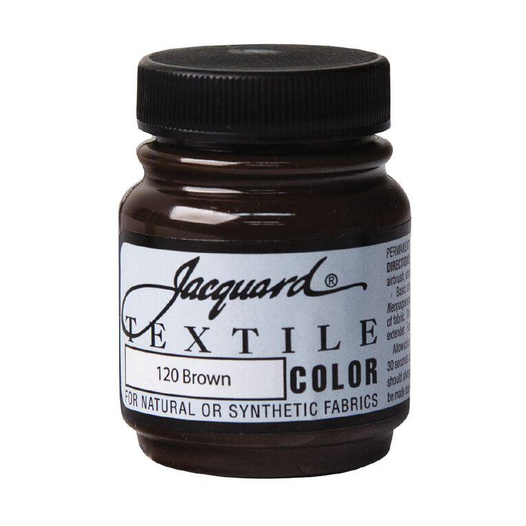 Jacquard Textile Colours 66.54ml Brown, , hi-res