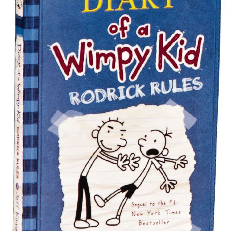 Diary of a Wimpy Kid #2 Rodrick Rules by Jeff Kinney, , hi-res
