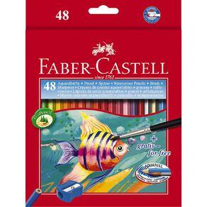 Faber-Castell Watercolour Pencils 48 Pack
