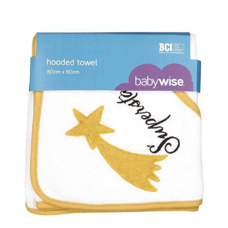 Babywise Hooded Towel, , hi-res