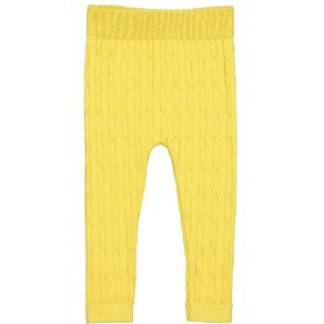 Young Original Toddler Cable Knit Leggings