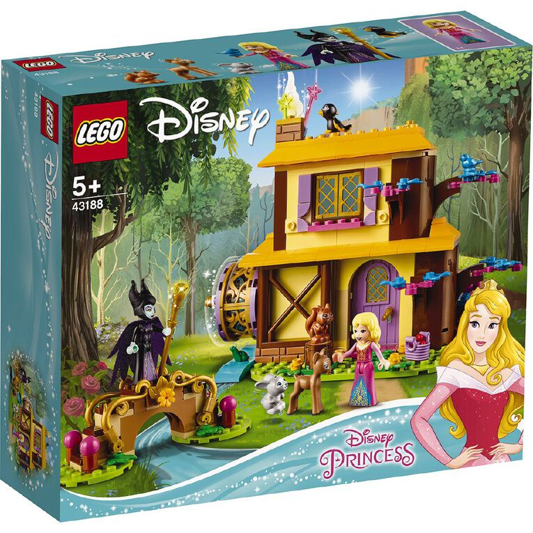 LEGO Disney Aurora's Forest Cottage, , hi-res