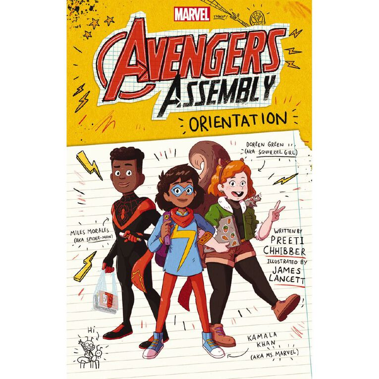 Marvel Avengers Assembly #1 Orientation by Preeti Chhibber, , hi-res