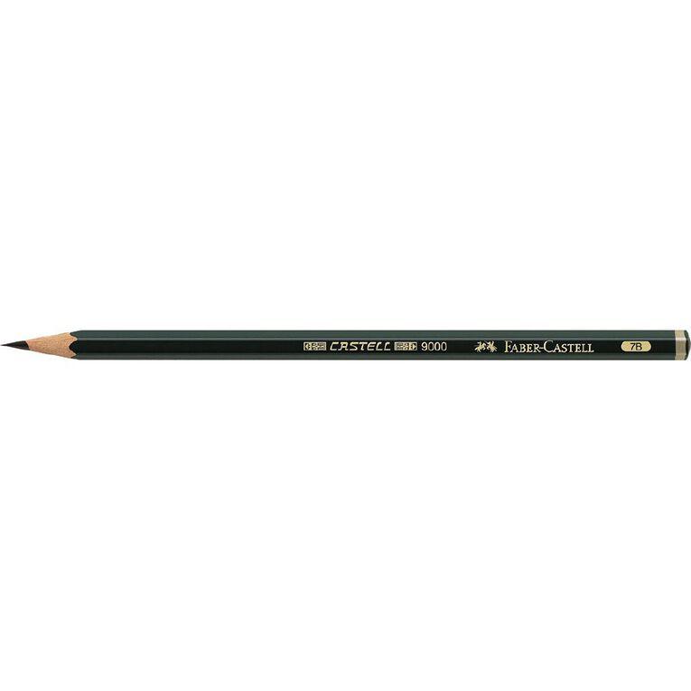 Faber-Castell Drawing Pencil 9000 7B, , hi-res