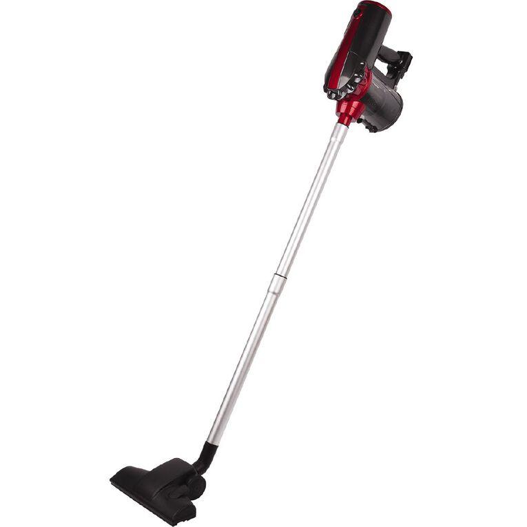 Living & Co Corded Stick Vacuum 600w Black/Red, , hi-res