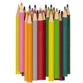 Kookie Coloured Pencils Half Size 24 Pack
