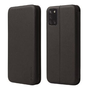 INTOUCH Samsung A21s Milano Wallet Case Black