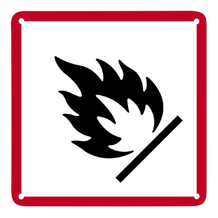 WS Fire Sign Small 300mm x 300mm, , hi-res
