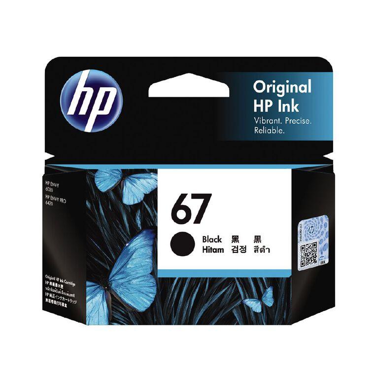 HP Ink 67 Black (120 Pages), , hi-res