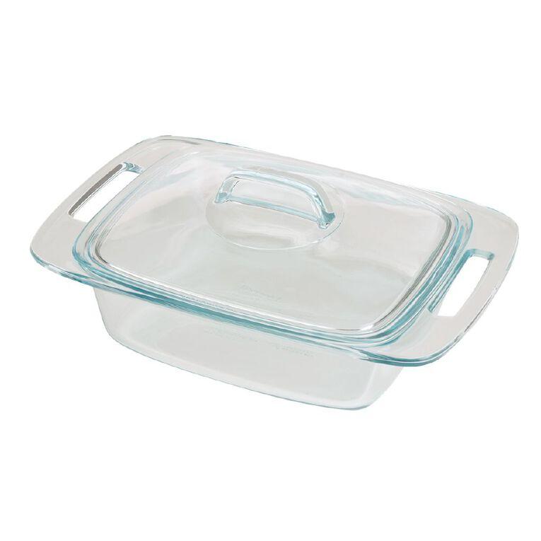 Pyrex Easy Grab Casserole Dish Rectangle 1.9L, , hi-res