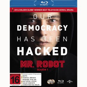 Mr Robot Season 1 Blu-ray 2Disc