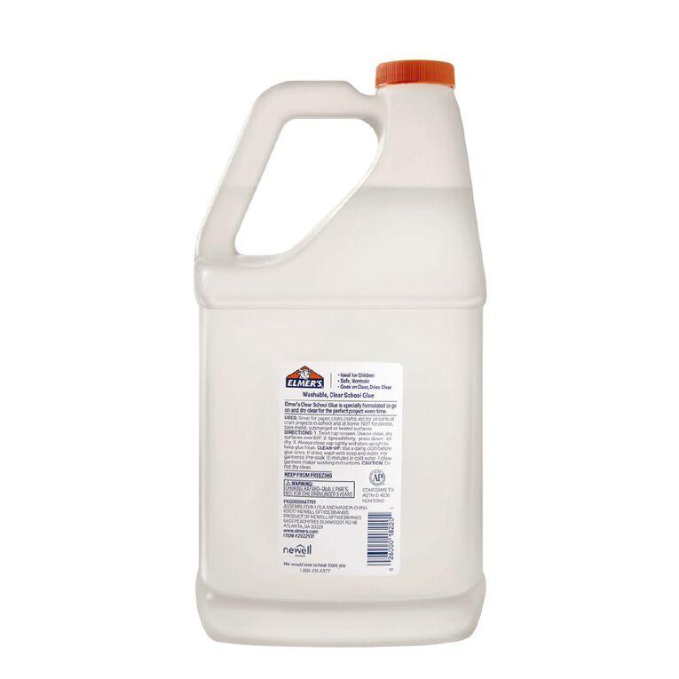 Elmer's Clear Liquid School Glue 3.8L Clear, , hi-res