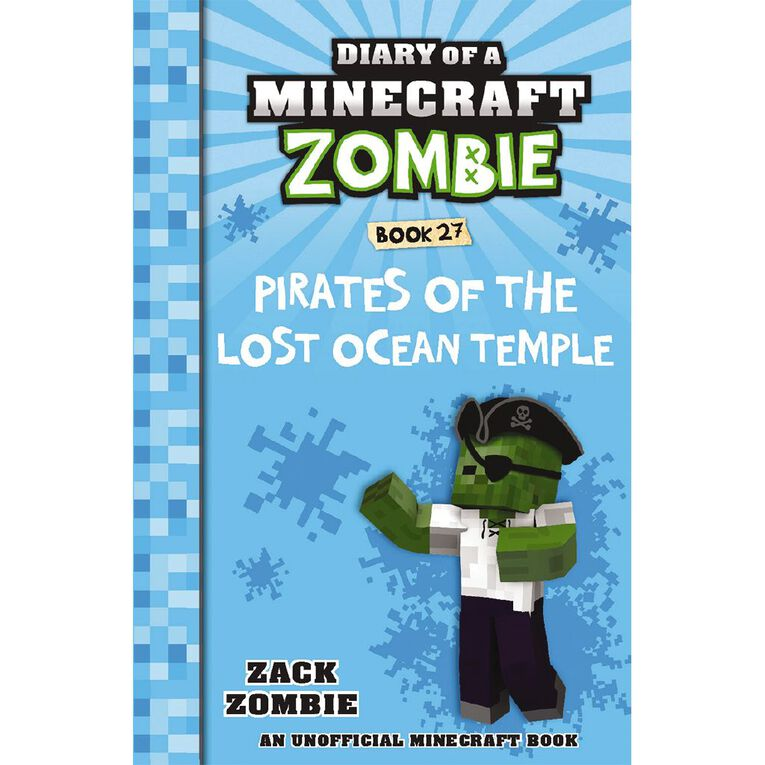 Minecraft Zombie #27 Pirates of the Lost Ocean Temple by Zack Zombie, , hi-res