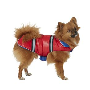 Petzone Reversible Puffer Jacket Red/Blue Small