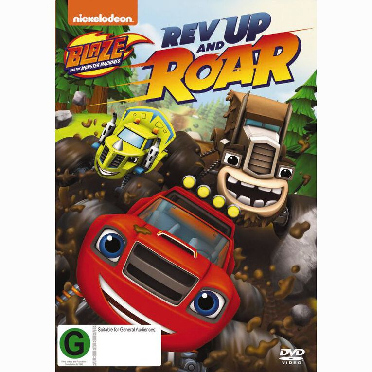 Blaze And The Monster Machines Rev Up And Roar DVD 1Disc, , hi-res