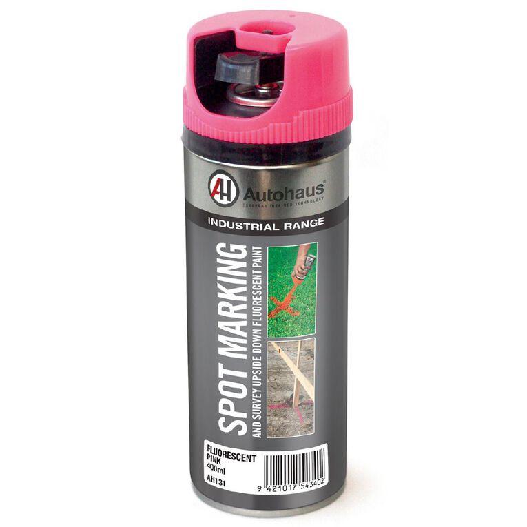 Autohaus Fluorescent Spray Paint Pink 400ml, , hi-res