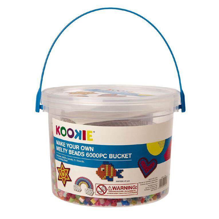 Kookie Melty Beads Bucket 6000 Piece, , hi-res