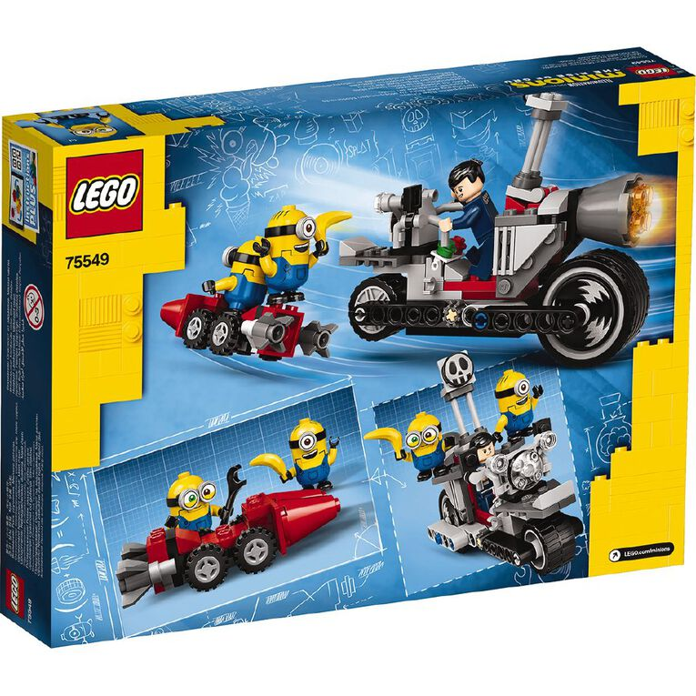 LEGO Minions Unstoppable Bike Chase 75549, , hi-res