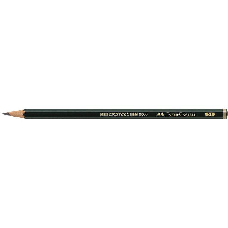 Faber-Castell Artist Pencil 9000 3H, , hi-res