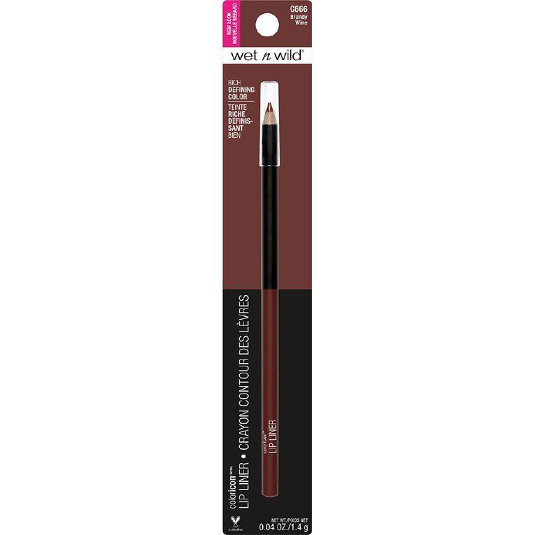 Wet n Wild Color Icon Lipliner Pencil Brandy Wine, , hi-res