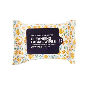 Eye Make Up Remover Wipes Assorted 20 Pack