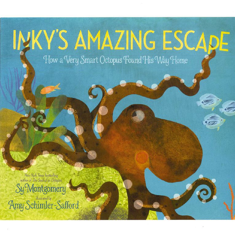 Inky's Amazing Escape by Sy Montgomery, , hi-res
