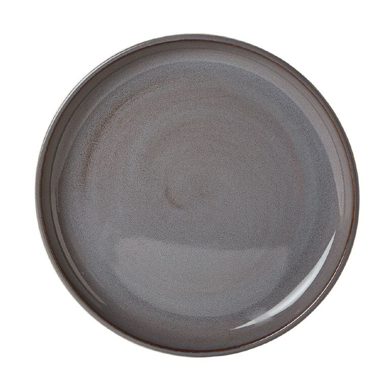 Living & Co Kina Side Plate Charcoal, , hi-res