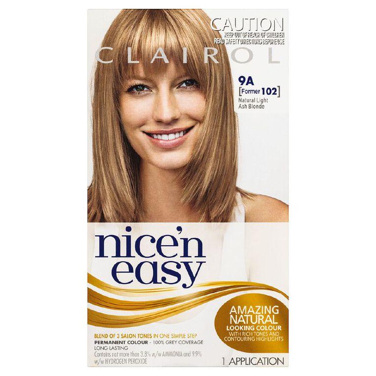 Nice 'n Easy Light Ash Blonde 9A (former 102), , hi-res