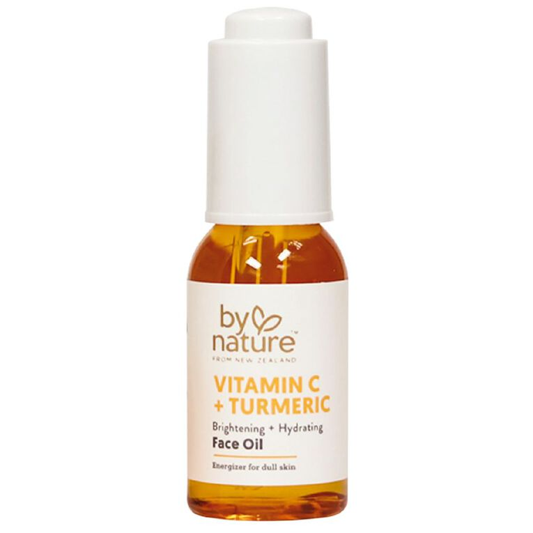 By Nature Vitamin C and Tumeric Face Oil 30ml, , hi-res