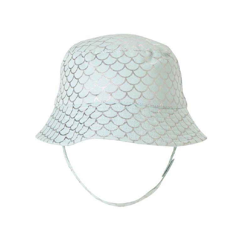 Young Original Kids' Printed Bucket Hat, Aqua, hi-res image number null