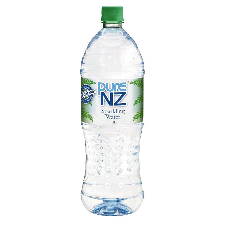 Pure NZ Sparkling Spring Water 1.5L, , hi-res