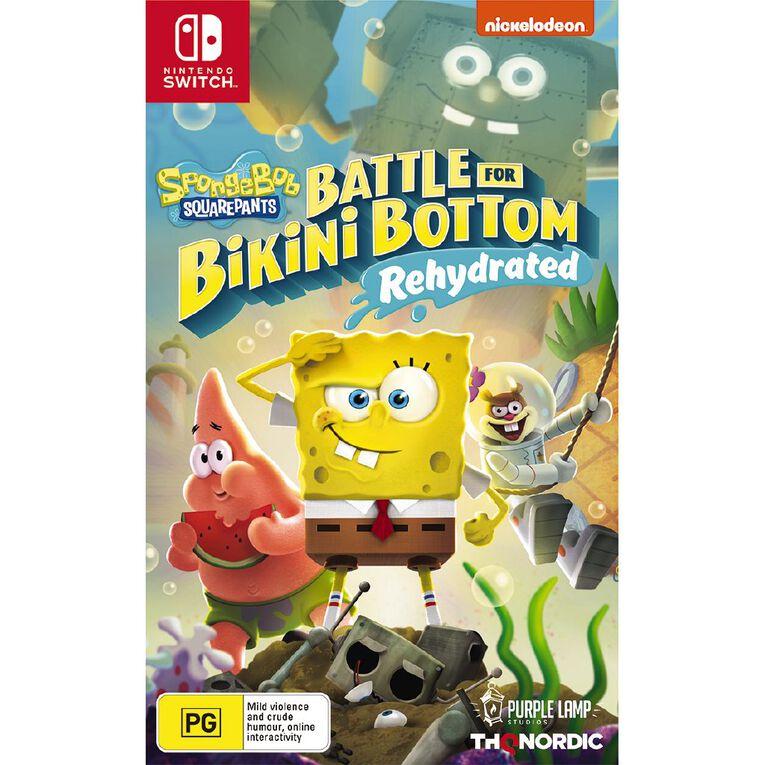 Nintendo Switch Spongebob Battle For Bikini Bottom Rehydrated, , hi-res