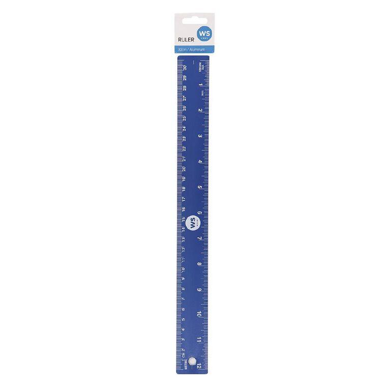 WS Ruler Aluminum Blue, , hi-res